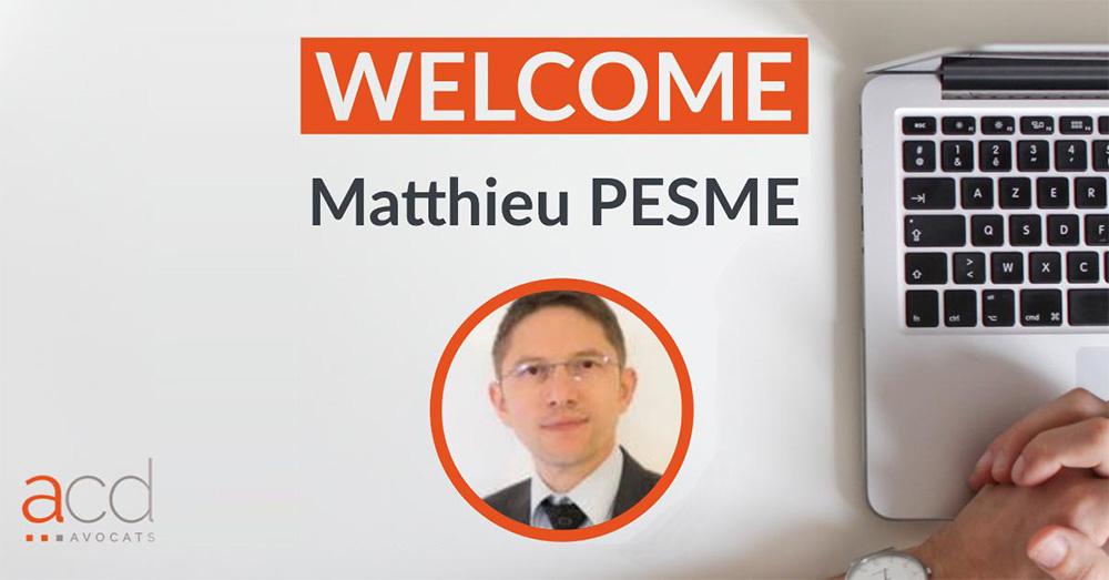 Matthieu Pesme - Secrétaire Général ACD