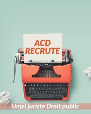 ACD recrute un(e) juriste à Epinal