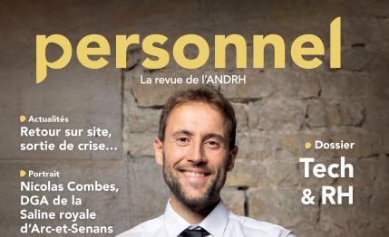 """Interview au sein de la revue """"Personnel"""" de l'ANDRH"""